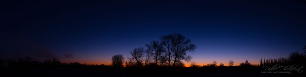 24. marts 2017 - tidlig morgen på folden - Panorama