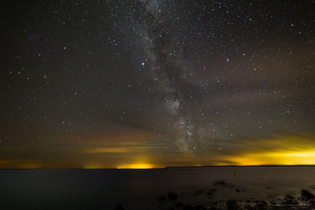 Billede fra 29. juli 2017 - En stille nat ved Vindebæk Strandvej