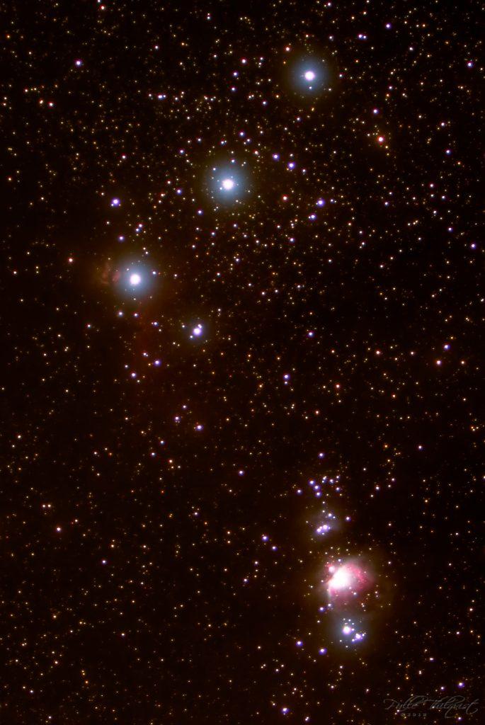 6. januar 2018 - Orions belt