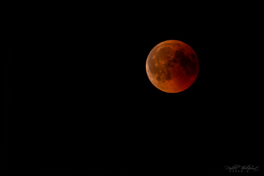 Blood moon 27. juli 2018