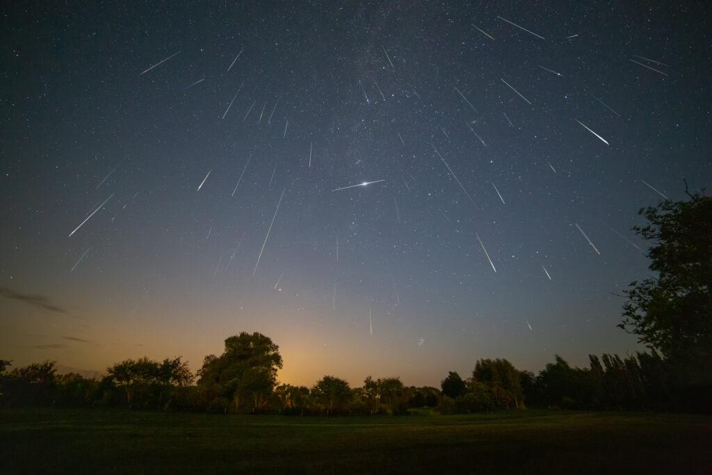 Persiderne meteor sværm 2019